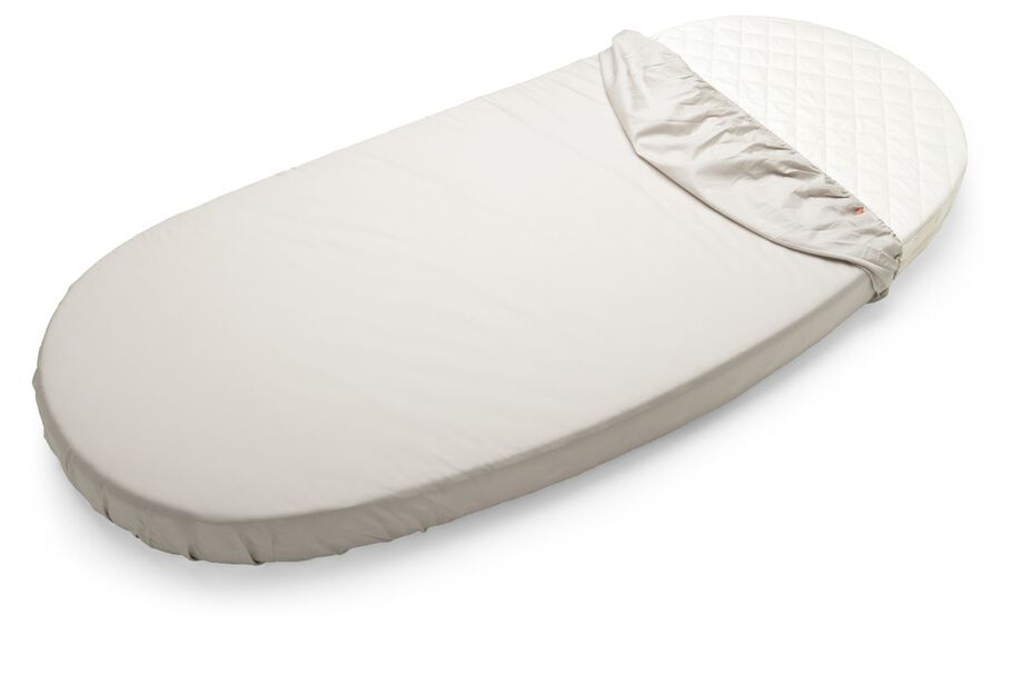 Stokke Sleepi Junior Fitted Sheet, Beige