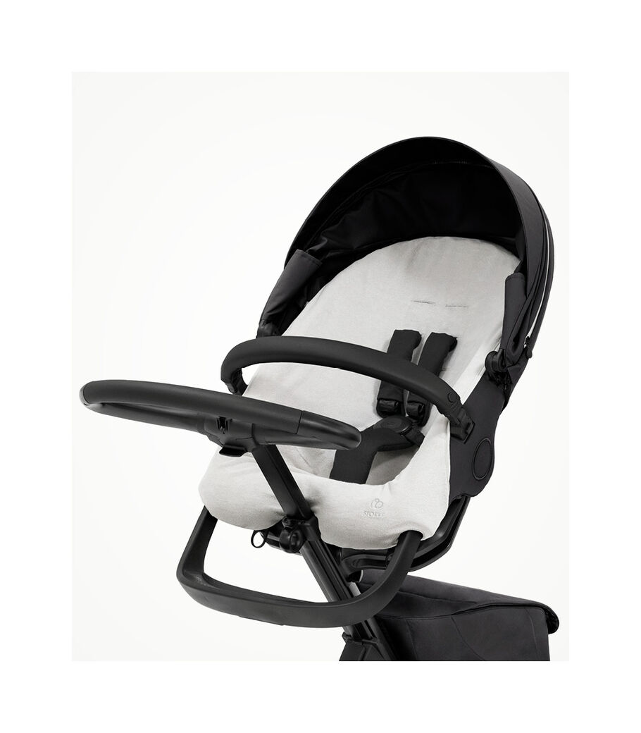 Stokke® Xplory® X Sommerbetræk, Light Grey, mainview view 5