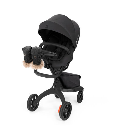 Stokke® Stroller Mittens Onyx Black, Onyx Black, mainview view 3