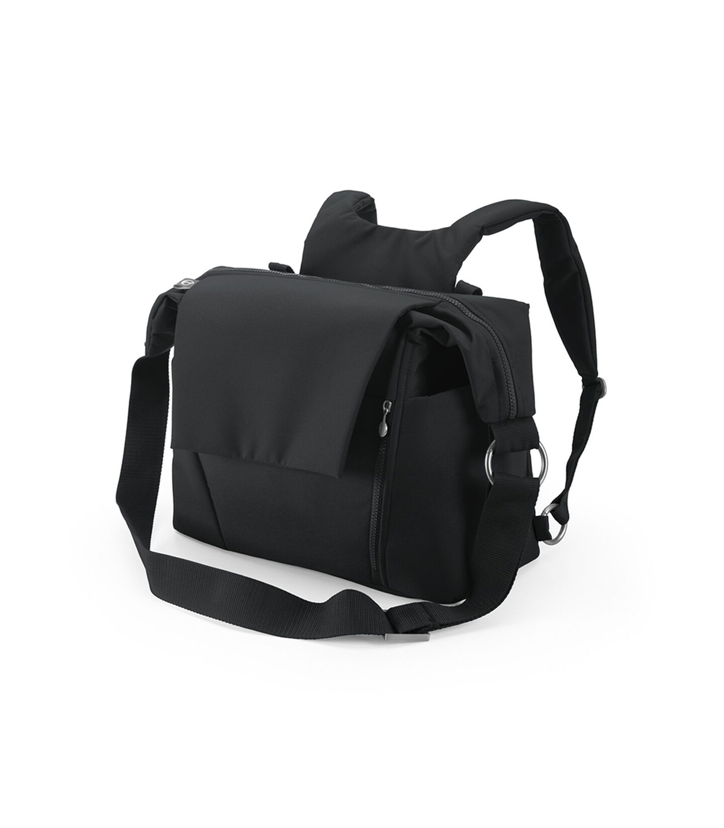 Stokke® Stroller Changing Bag, Black.