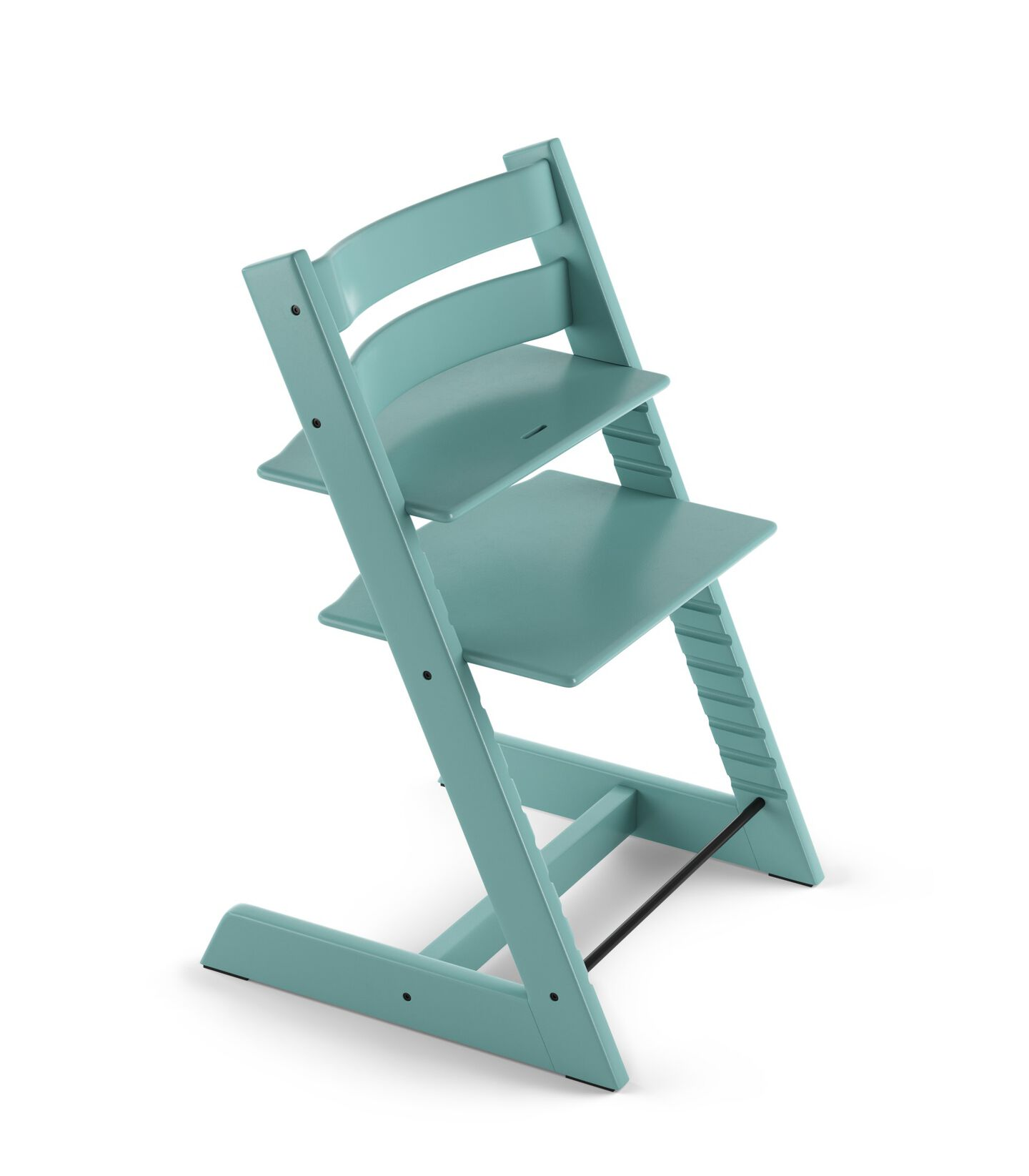 Tripp Trapp® Chair Aqua Blue, Beech.