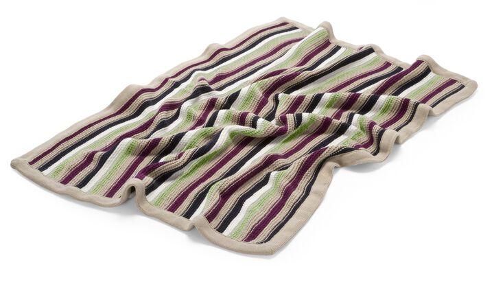 Stokke® Stroller Blanket Green Multi, Green Multi, mainview