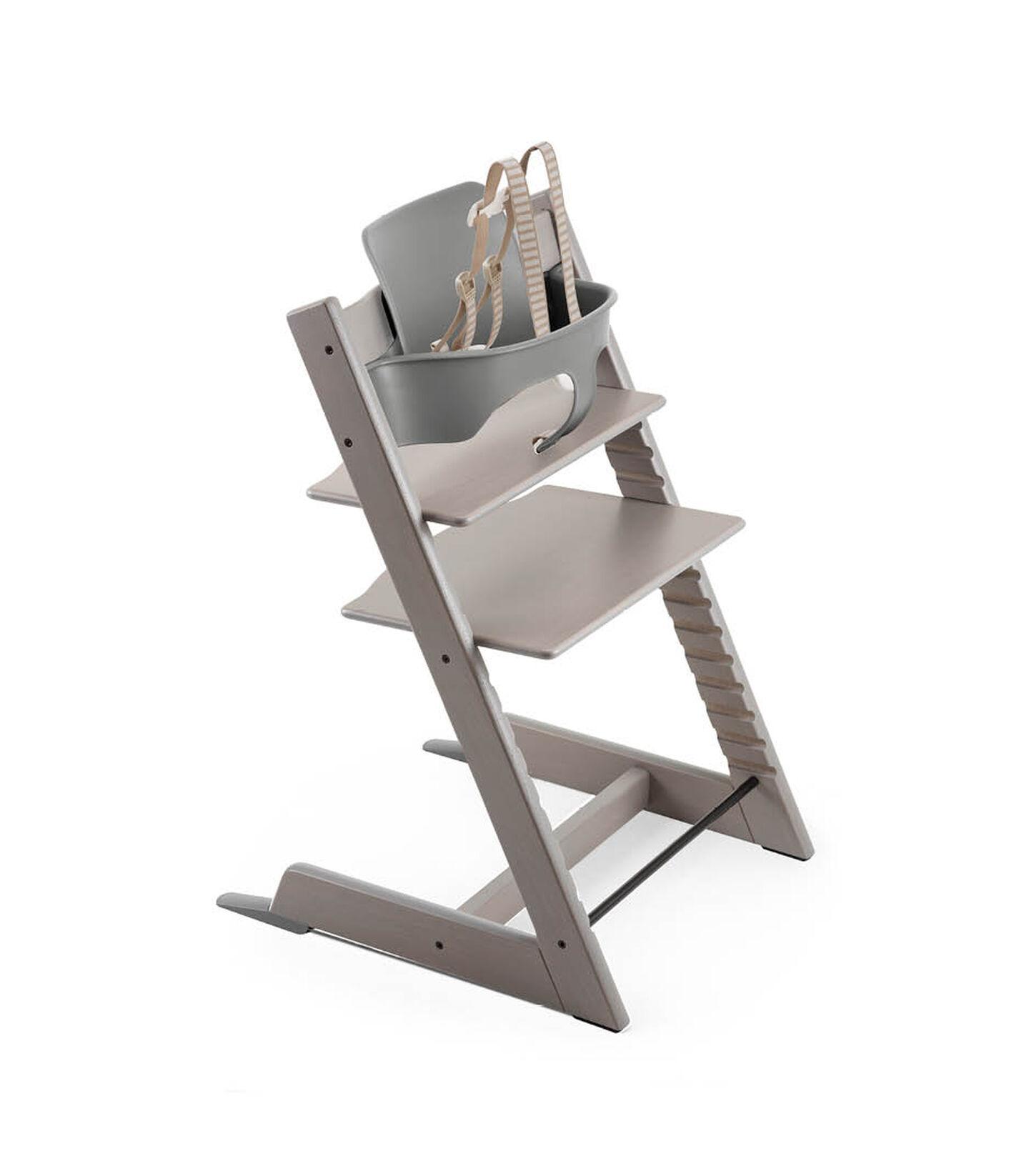 Tripp Trapp® Bundle High Chair US 18 Oak Greywash, Oak Greywash, mainview view 1