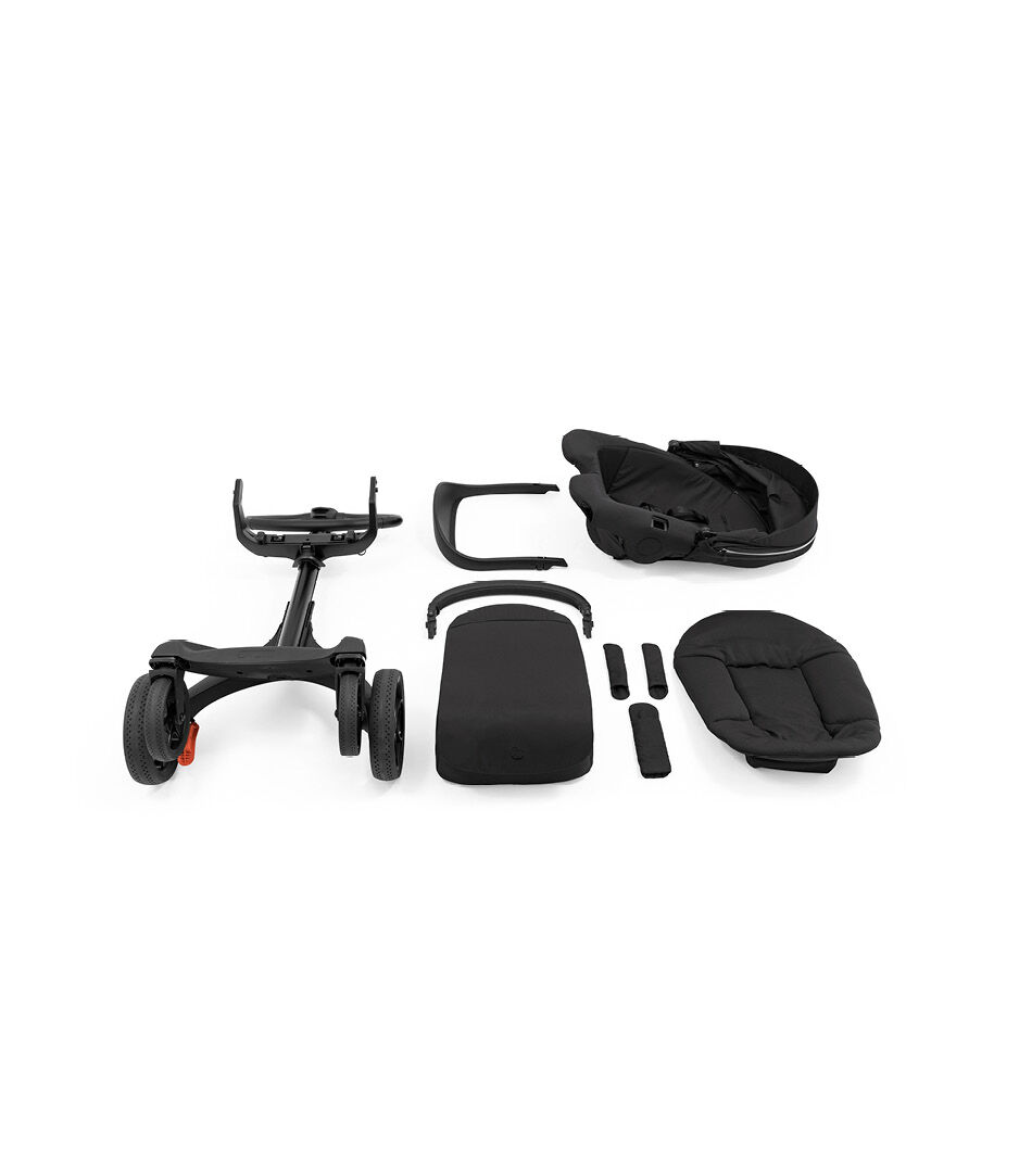 Stokke® Xplory® X Stroller What's Included  view 1