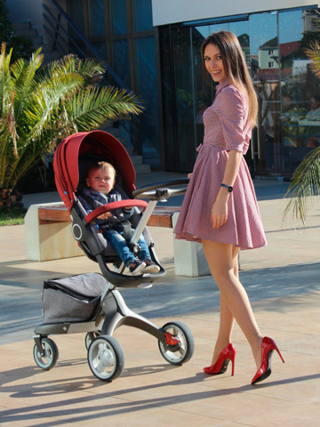 Style in Sochi with Stokke<sup>®</sup> Xplory<sup>®</sup>