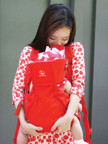 A year with new Moms and the Stokke<sup>®</sup> MyCarrier<sup>™</sup>