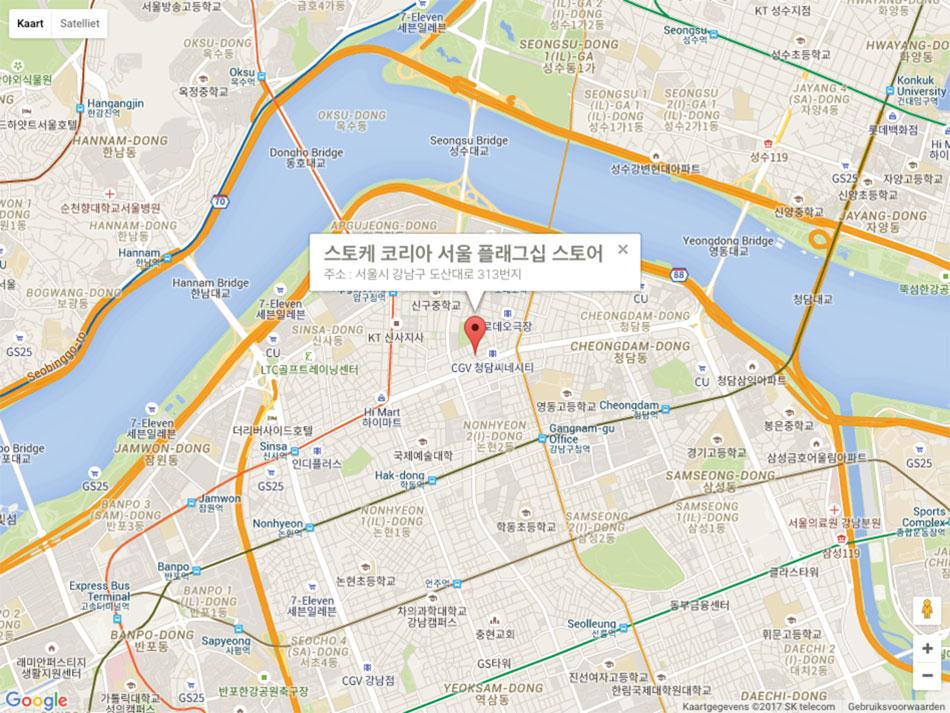 Flagshipstore-Seoul-Korea_map