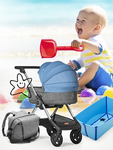 TRAVEL WITH STOKKE<sup>®</sup>
