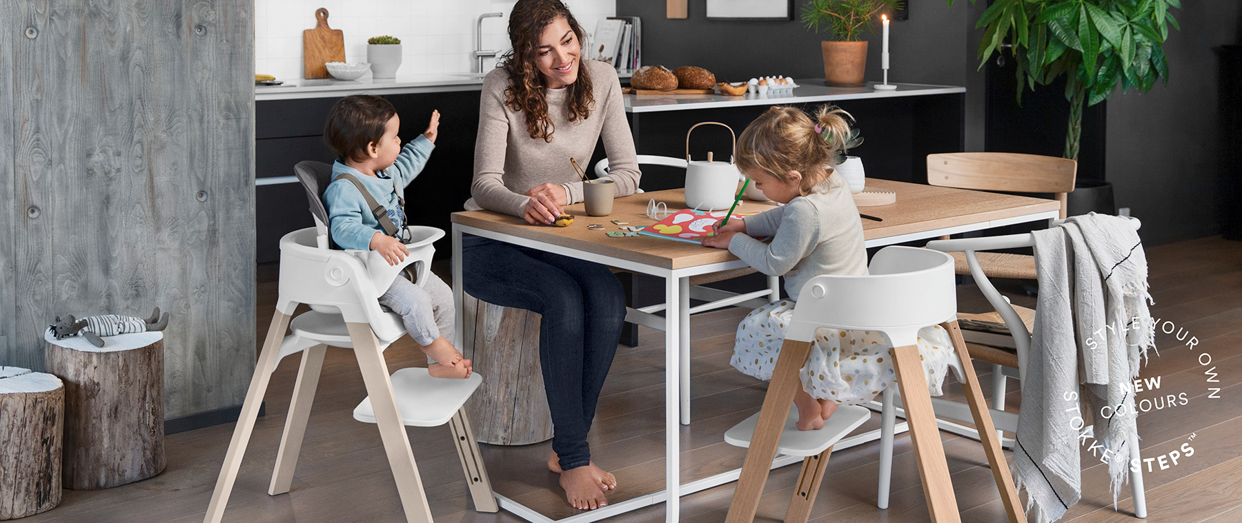 A Modern Scandinavian Chair Designed With Supportive Curves U2013 Perfect For  Active Children.
