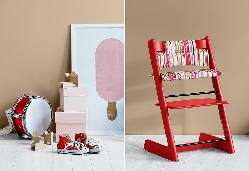 Nouveaux coloris et accessoires for Chaise stokke