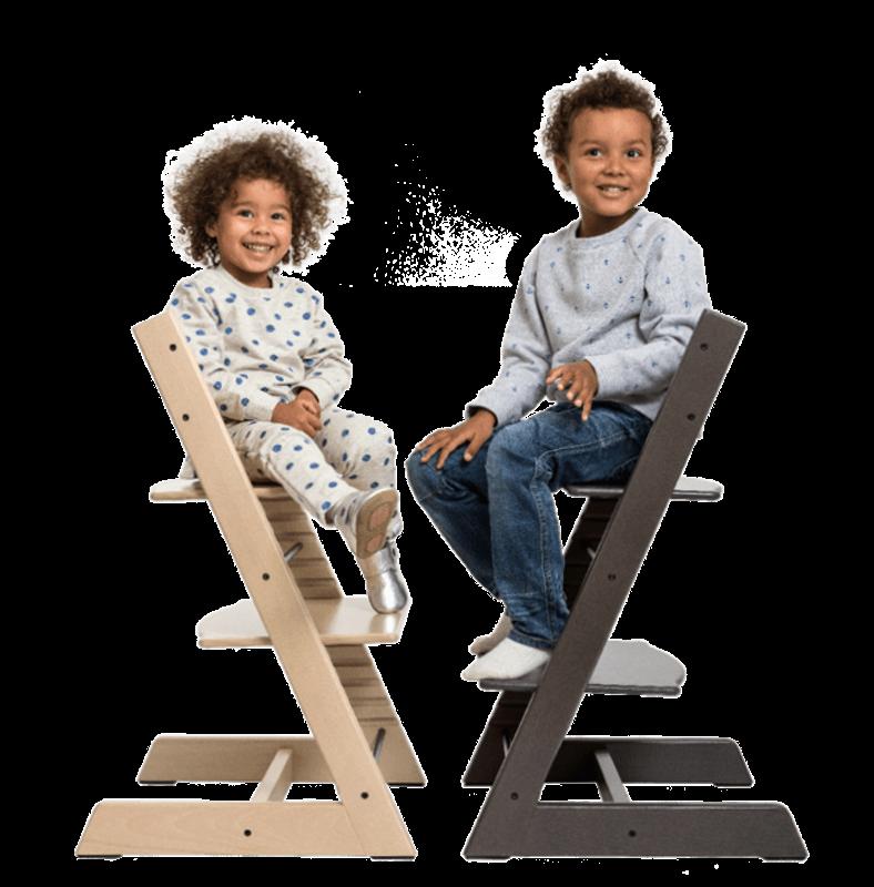 Los niños pueden disfrutar de la silla Tripp Trapp a cualquier edad