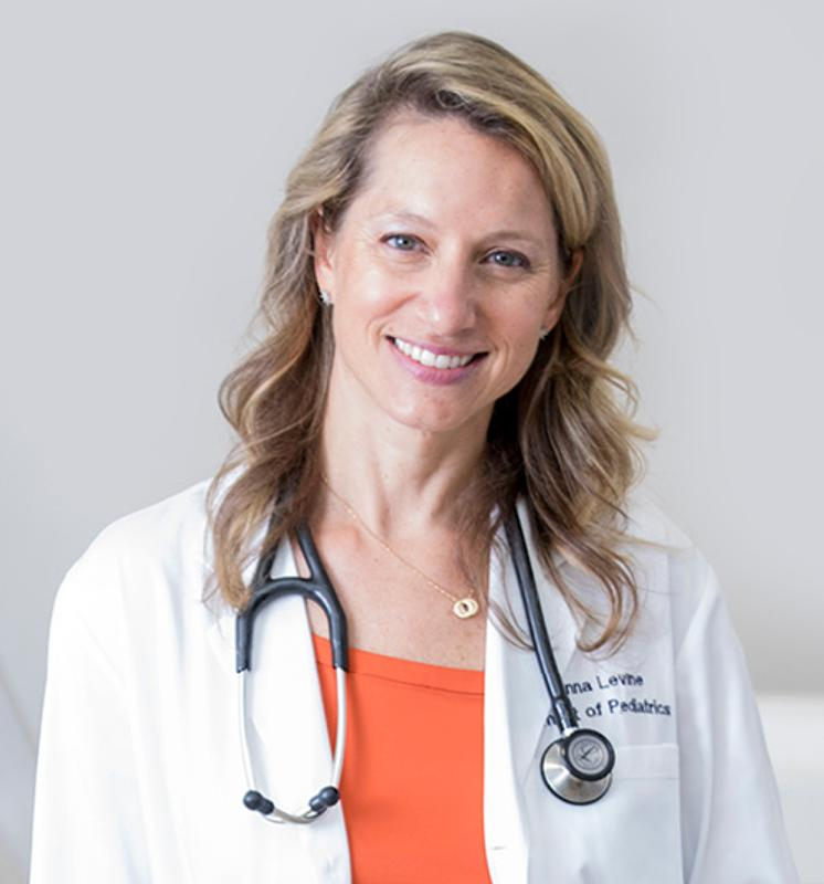 Pediatrician Dr. Alanna Levine