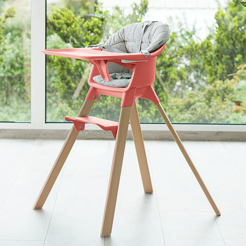 Remarkable Stokke Clikk High Chair Soft Grey Short Links Chair Design For Home Short Linksinfo
