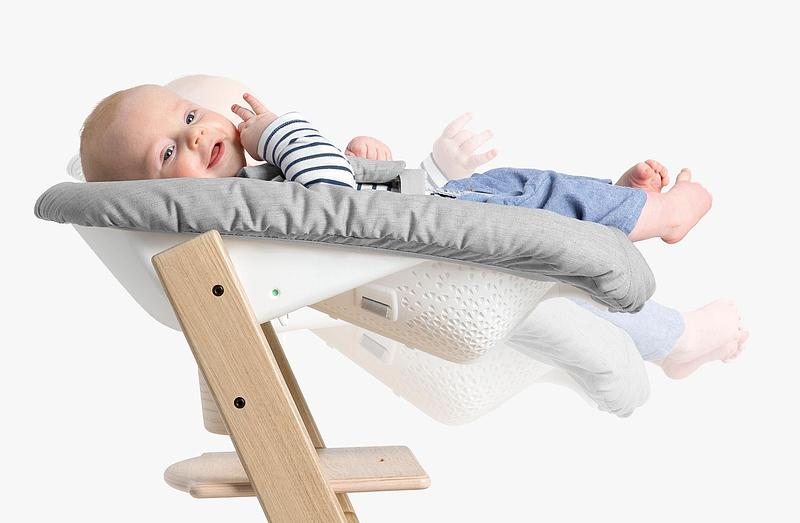Stokke Tripp Trapp Newborn High Chair Accessory Set Coral Confetti