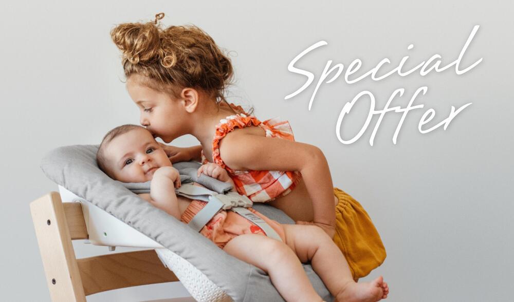 girl with baby in Newborn Bundle
