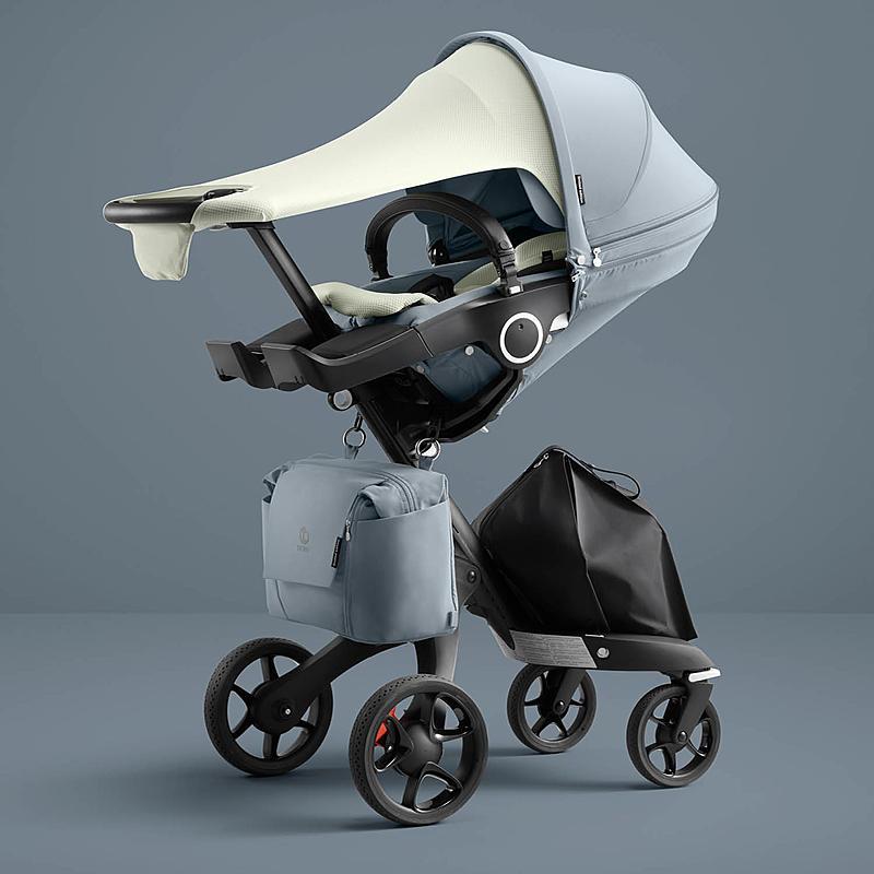 Stokke Xplory Balance, Stokke Car Seat And Stroller