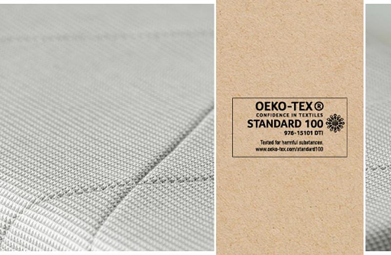 トリップ トラップ ノルディック グレー イメージ - oeko-tex
