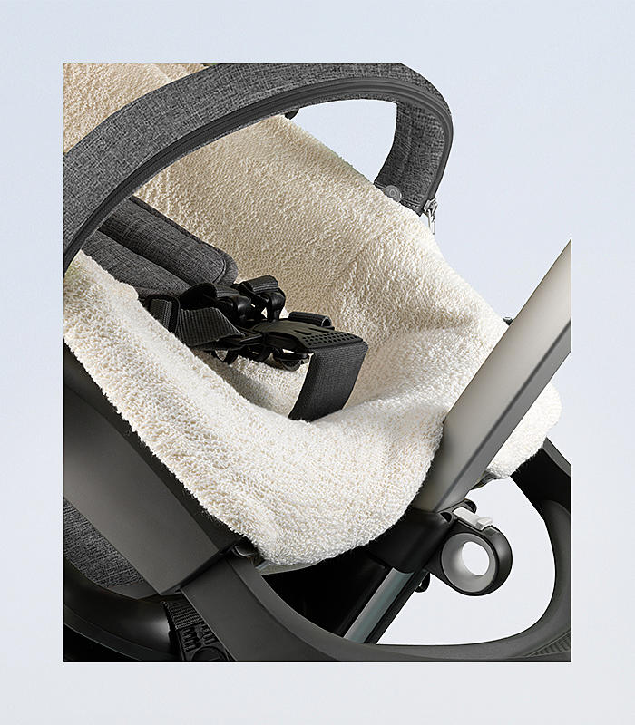 Stokke® Kinderwagen Frotteebezug
