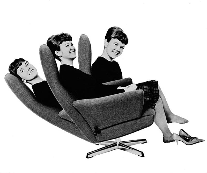 Sedia con rotazione di 360 gradi