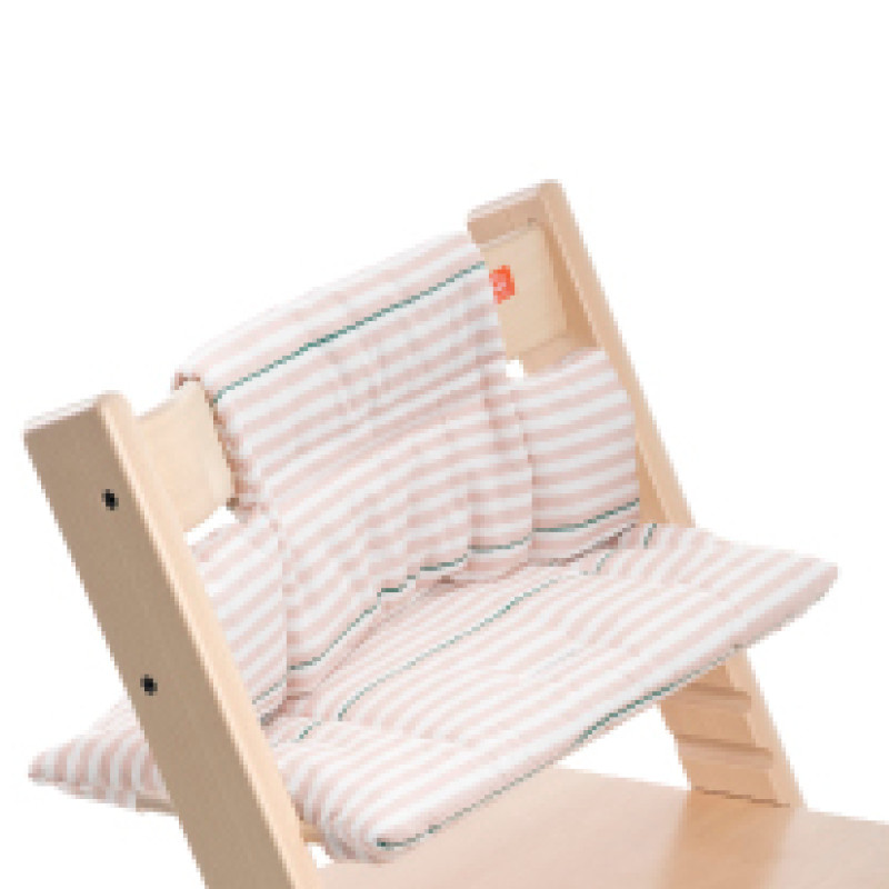 Tripp Trapp Cushion Pink Stripes