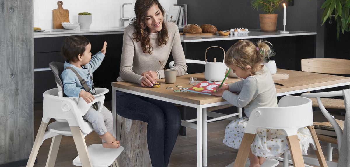 High chairs seating & bouncers for babies from Stokke