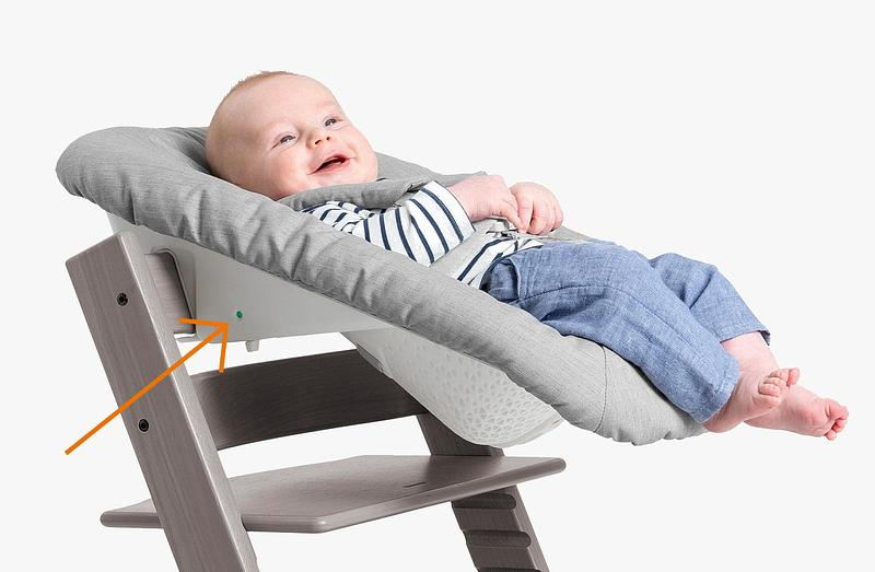 Tripp Trapp® Newborn Set Grey
