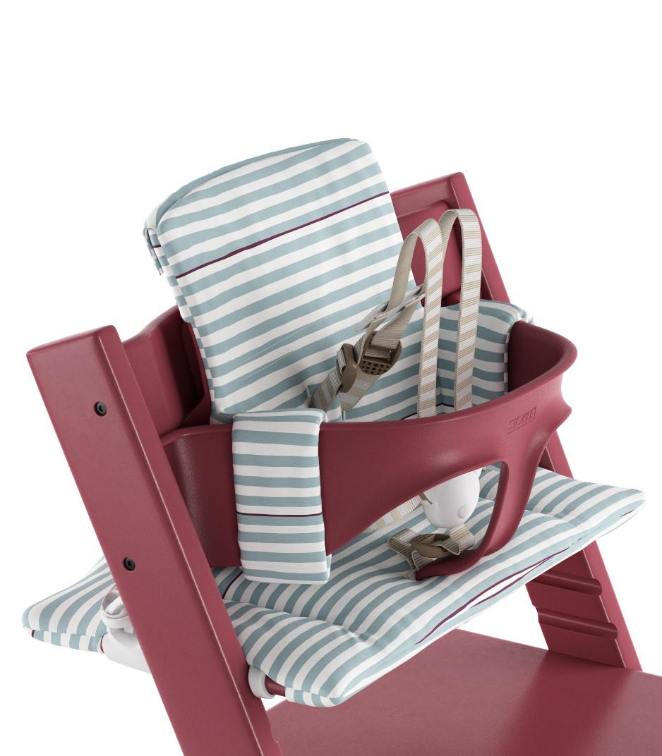 Tripp Trapp Cushion Aqua Stripes