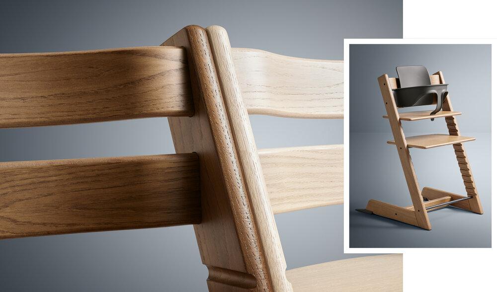 TT Oak brown chair