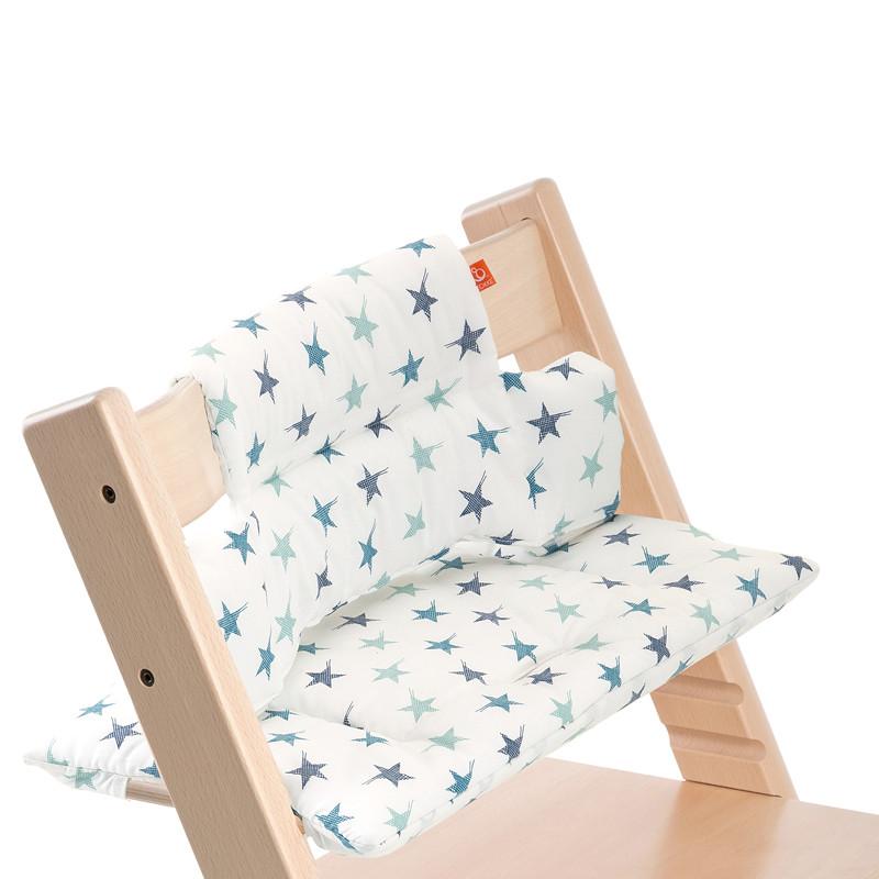 Tripp Trapp Cushion Aqua Star