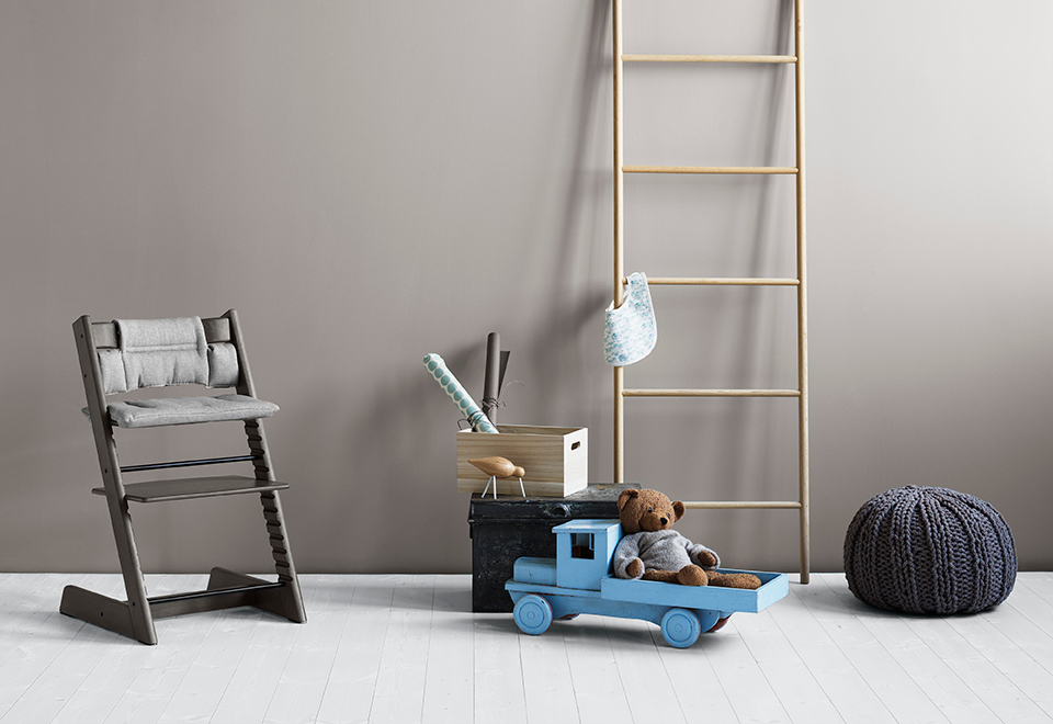 Nieuwe Stokke Stoel : Nieuwe kleuren en accessoires