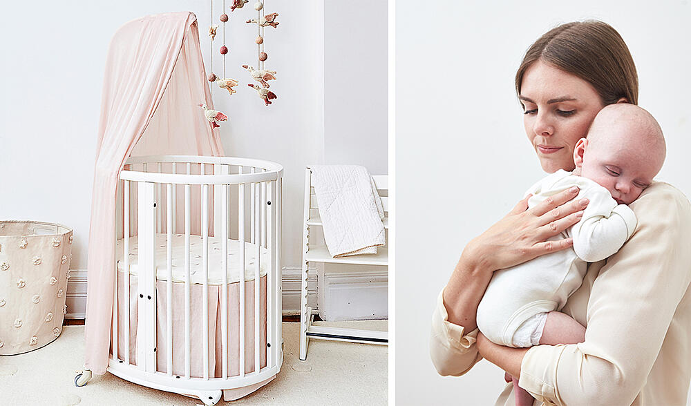 Safe and secure crib