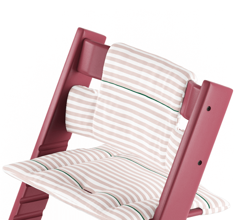 Cuscino Tripp Trapp Pink Stripes