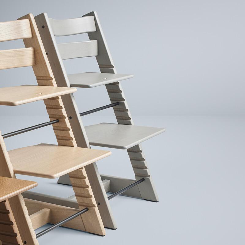 TT Oak brown chairs lineup close up 2