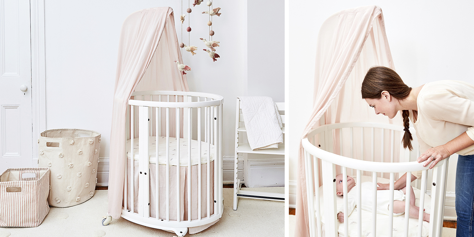 Sleepi Canopy Pehr Petite in setting