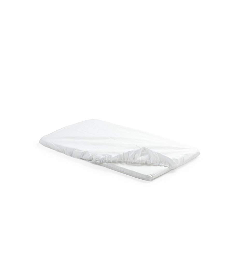 Stokke 174 Home Cradle Fitted Sheet 2pc White