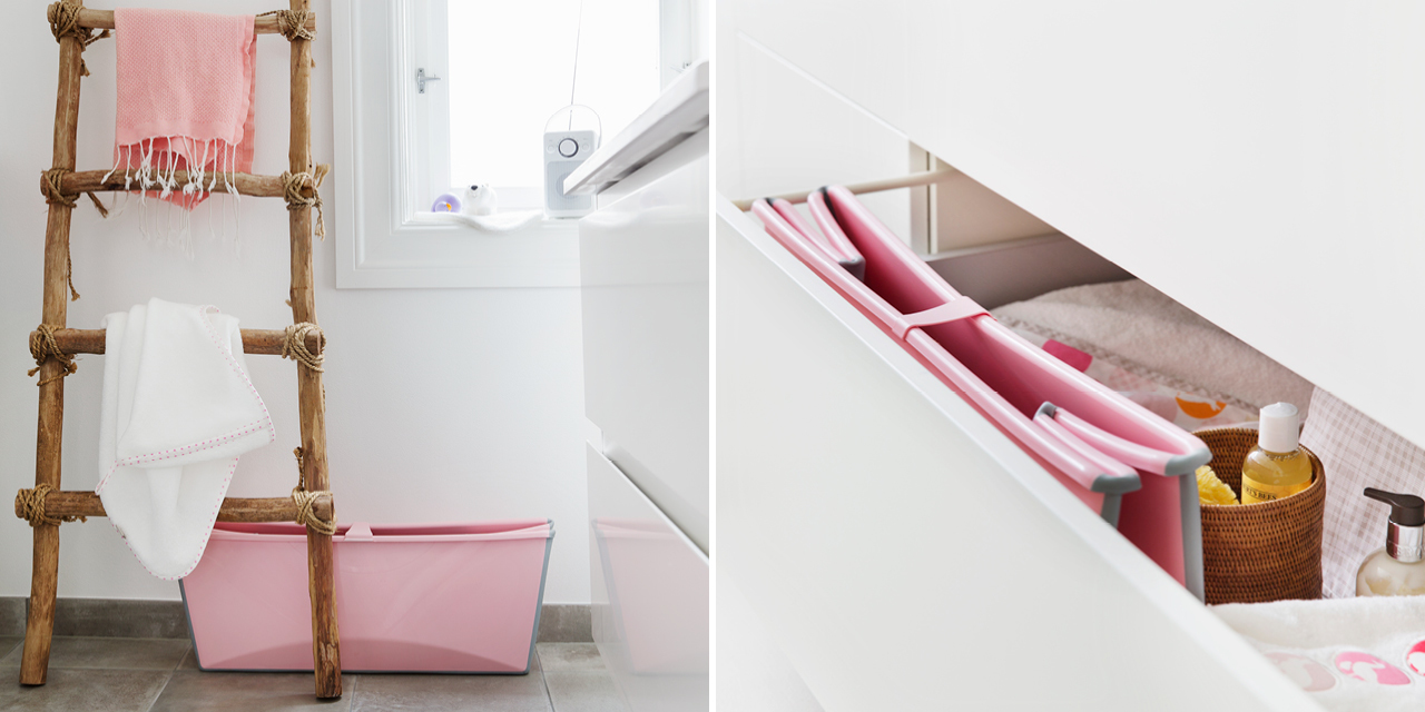 Stokke® Flexi Bath® collages, February 2017.