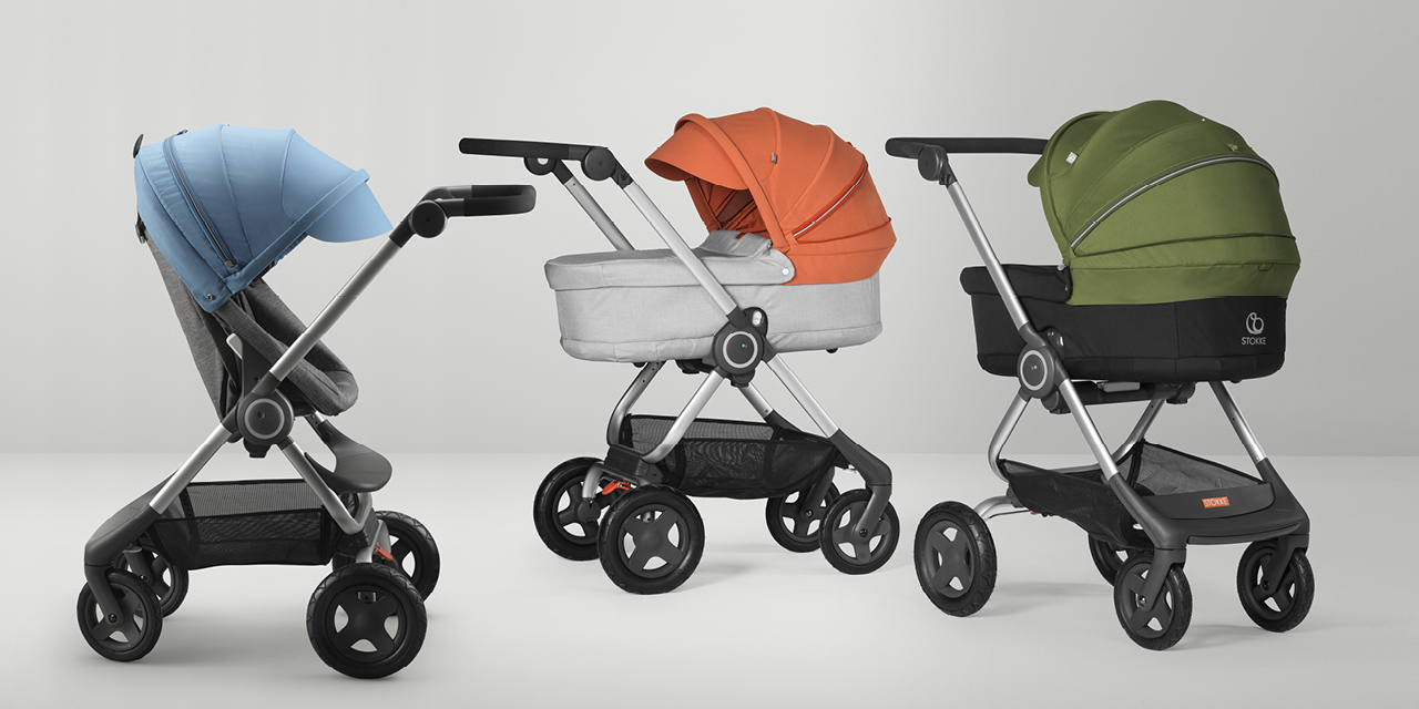 Stokke® Scoot™ Seat and Carry Cot.