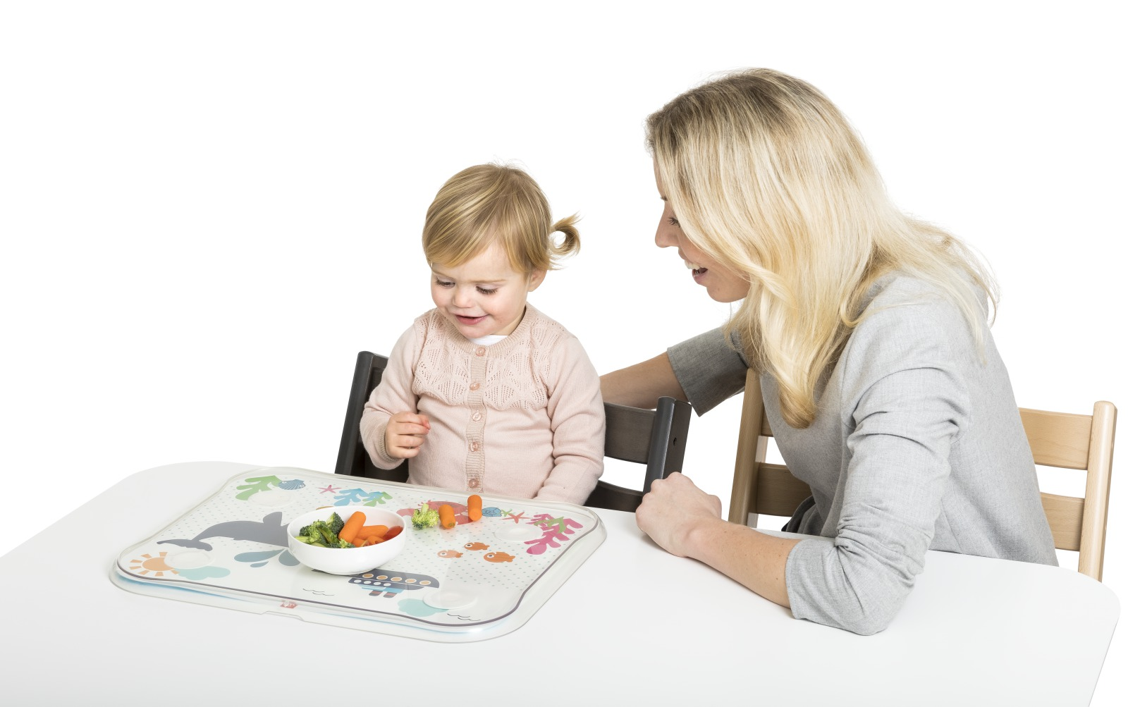 "Stokke® Table Top. ""Under water"" template."