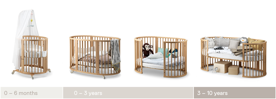 Stokke® Sleep™ grow line 2016.