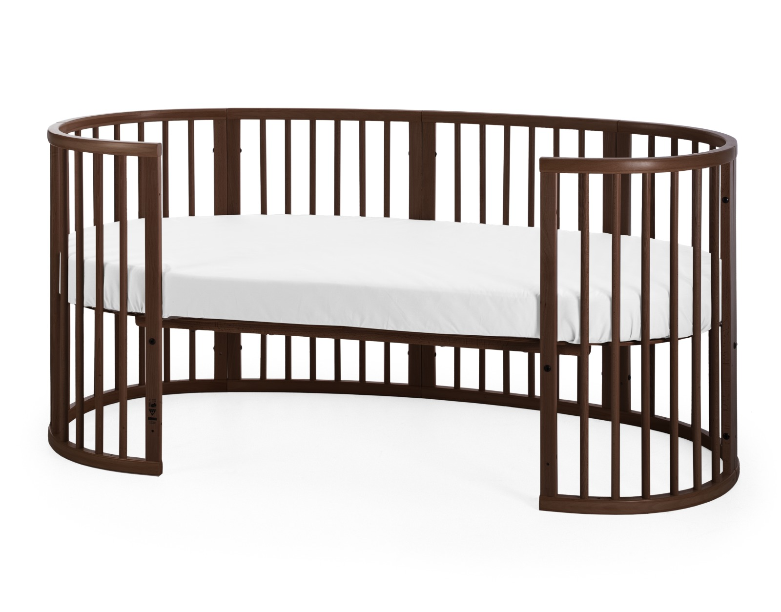 Stokke® Sleepi™ Junior, Walnut Brown.