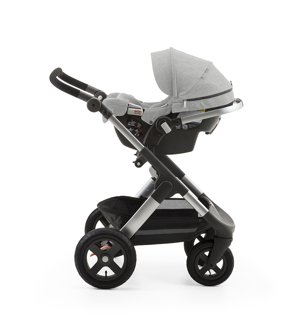 stokke pipa by nuna car seat grey melange. Black Bedroom Furniture Sets. Home Design Ideas