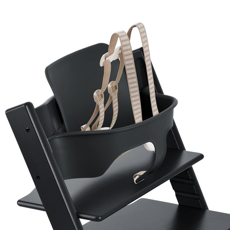 tripp trapp baby set black. Black Bedroom Furniture Sets. Home Design Ideas