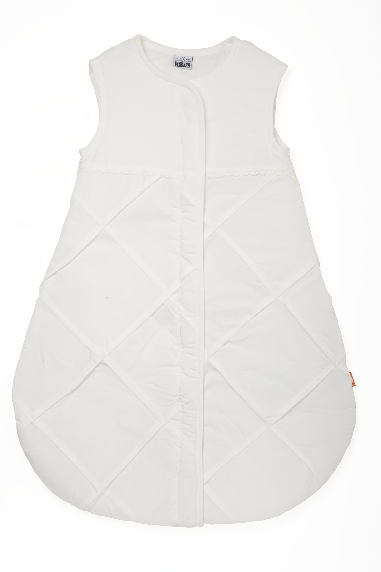 Sleeping Bag 65cm, Classic White