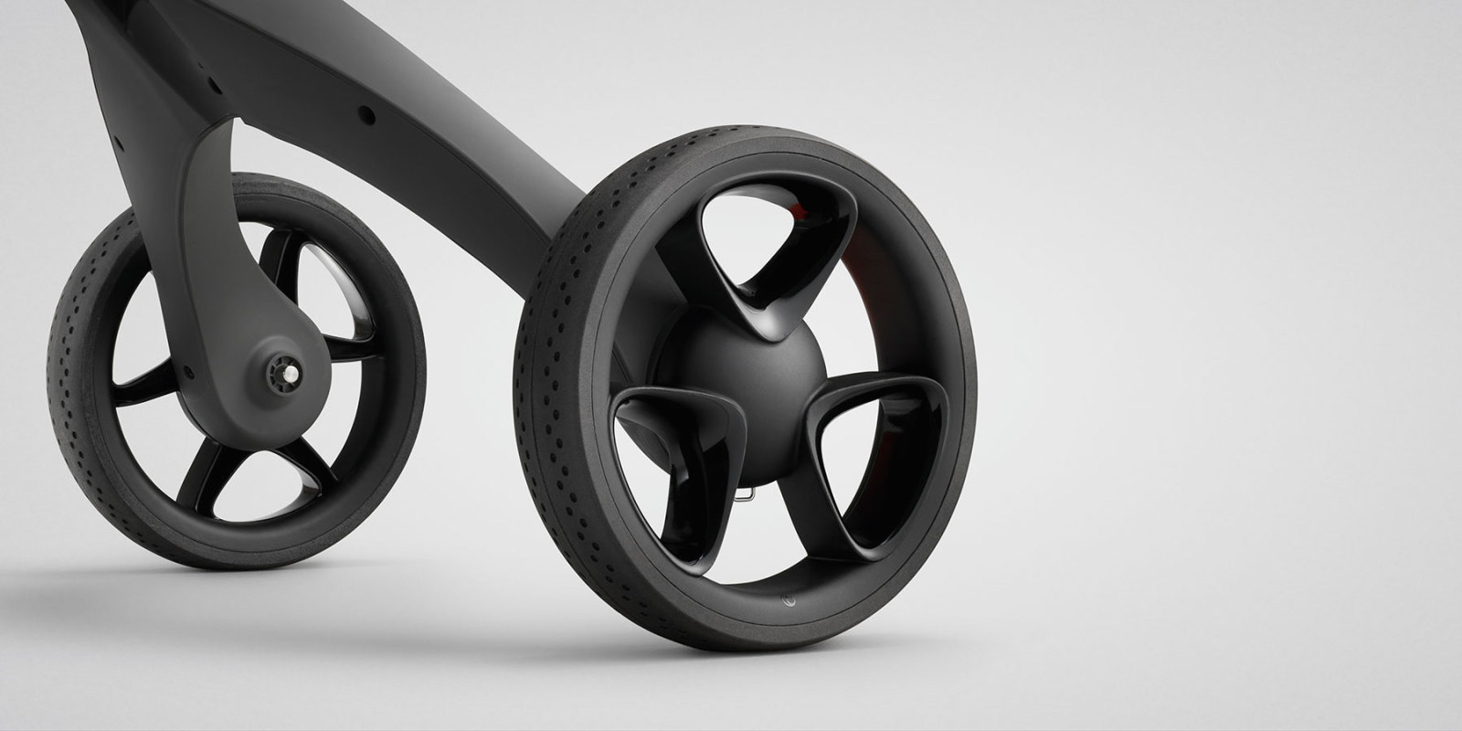 Stokke® Xplory® new wheels.