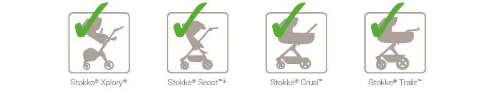 Stokke® Stroller Car Seat Adaptor Chicco Compatibility