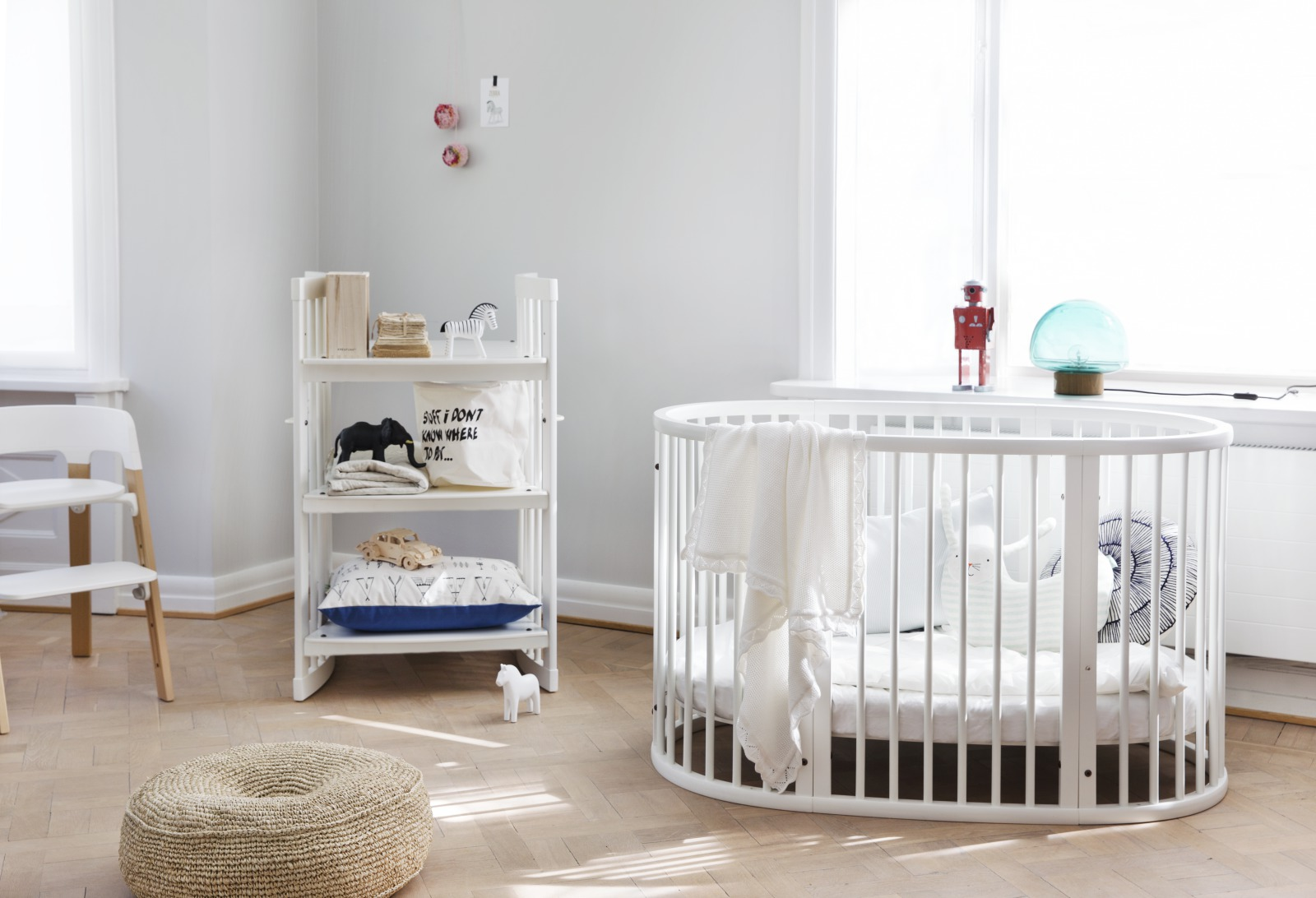 Stokke® Sleepi™ Bed White.