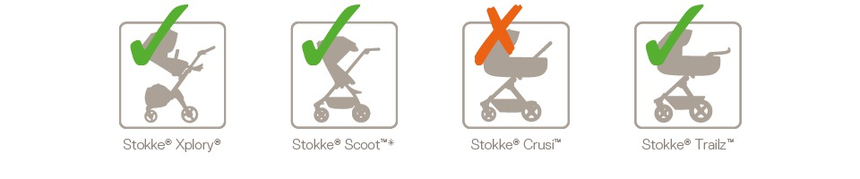 Stokke® Stroller Car Seat Adaptor Multi Compatibility