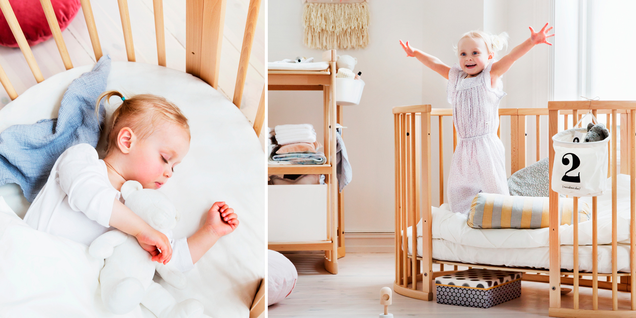 stokke® sleepi bed the baby cot that grows with your child - stokke® sleepi™ bed