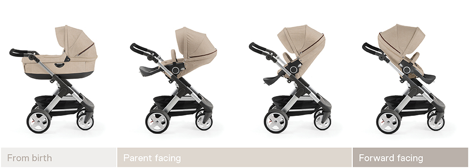 Stokke® Trailz™ grow line 2016. Classic wheels.