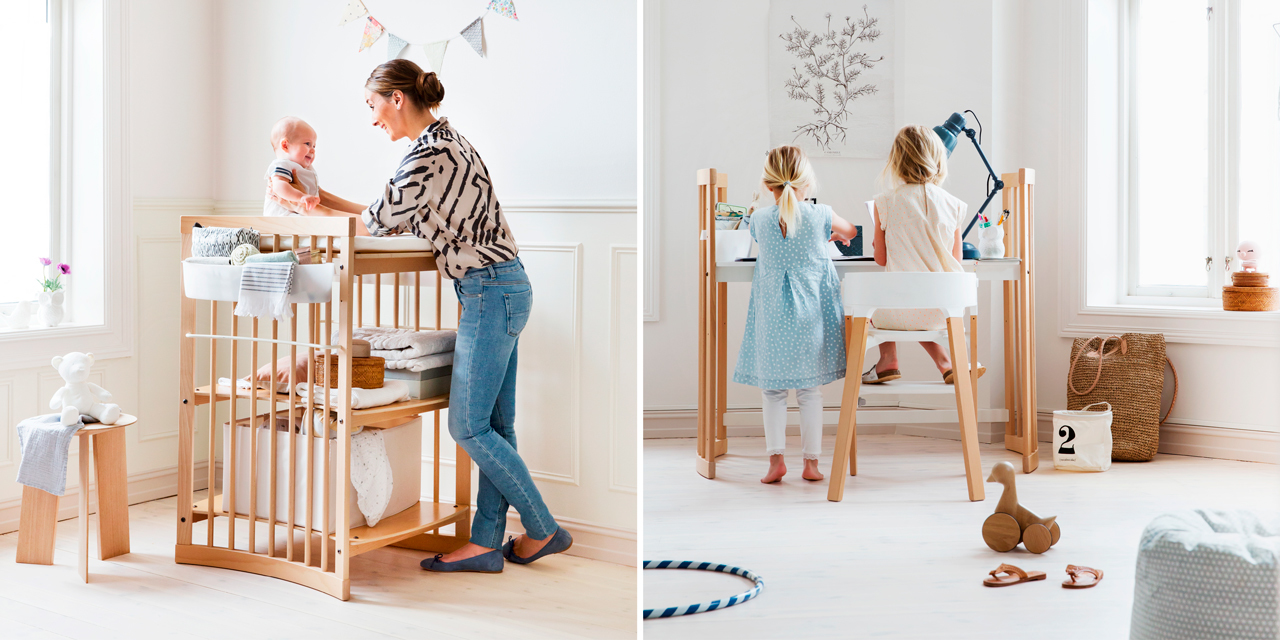 Stokke® Care™. Changing Table and Desk.